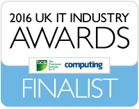 UK IT Industry Awards 2016 Finalist